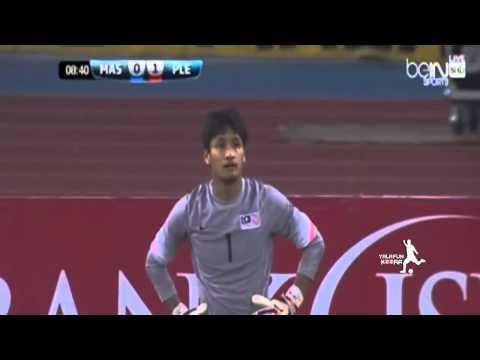 اهداف وملخص مباراة فلسطين وماليزيا اليوم الثلاثاء 16-6-2015 فيديو يوتيوب