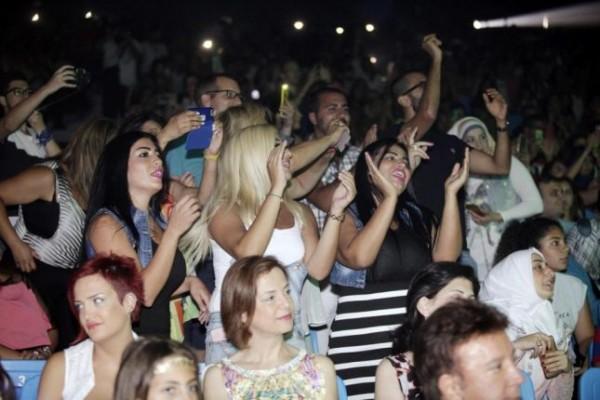 صور حفلة نجوى كرم في مهرجان اعياد بيروت 2015