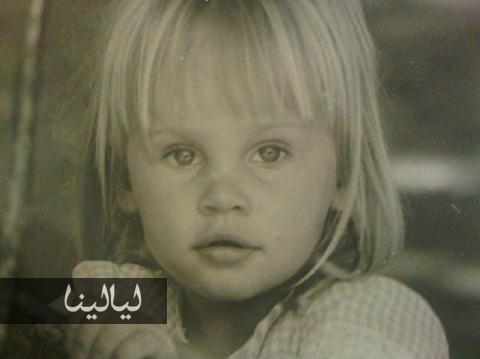 صور النجمة المصرية شيرين رضا وهي طفلة صغيرة 2015
