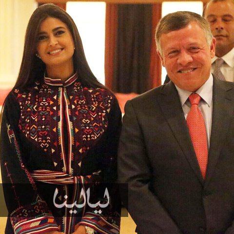 صور صور علا الفارس مع الملك عبد الله الثاني 2015