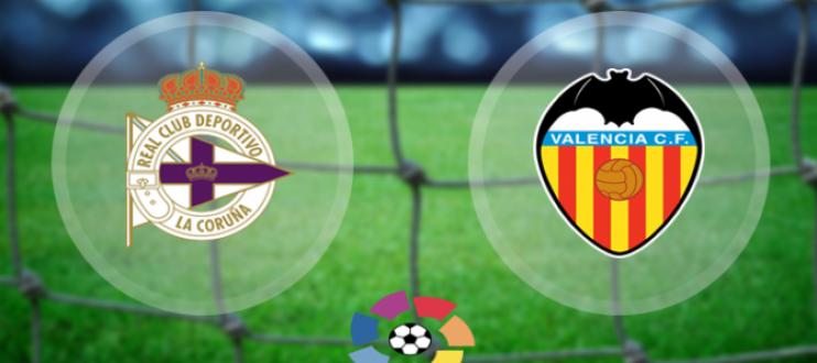 مباشر مباراة فالنسيا وديبورتيفو لاكورونا