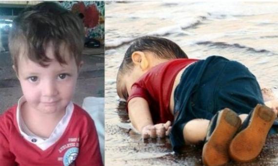 وفاة وغرق الطفل إيلان كردي