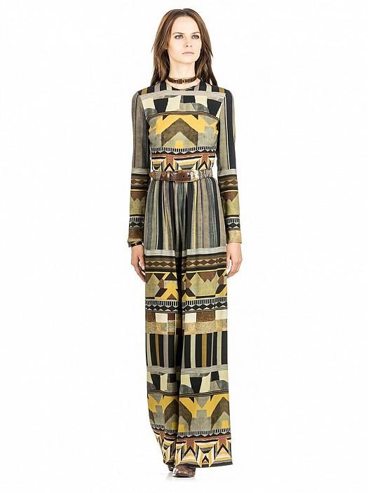 صور أزياء وفساتين إيترو موضة 2015 محتشمة