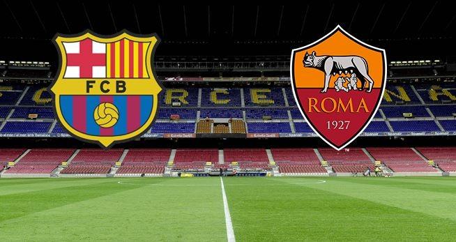 موعد وتوقيت مشاهدة مباراة روما وبرشلونة اليوم الاربعاء 16-9-2015