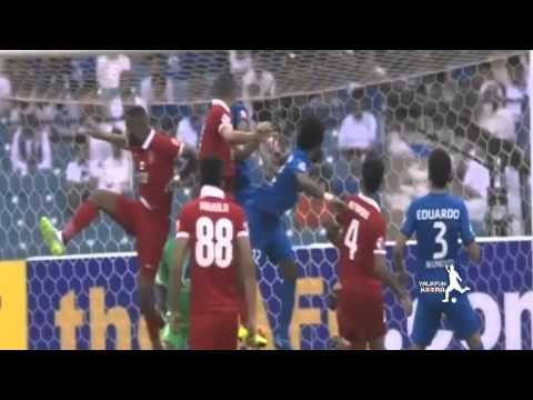 فيديو يوتيوب اهداف ملخص مباراة الهلال والاهلي الاماراتي اليوم الثلاثاء 29-9-2015 جودة عالية hd