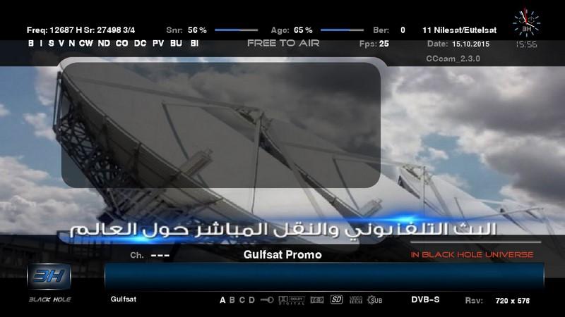 ������ ���� ���� ���� ���� ����� ��� ����� Eutelsat 7 West A @ 7.3� West����� ������ 15/10/2015