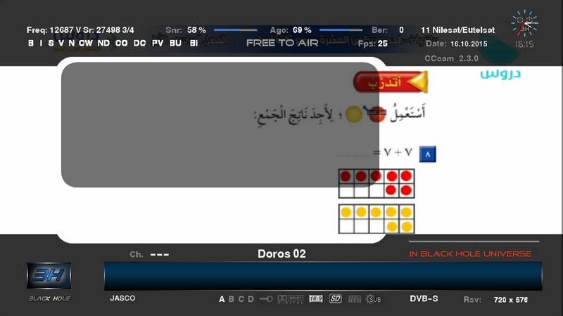 ���� ����� Eutelsat 7 West A @ 7.3� West ���� ���� ����� Doros����� ����� 17/10/2015