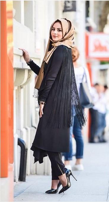 صور ملابس محجبات تركية للبنات موضة 2016