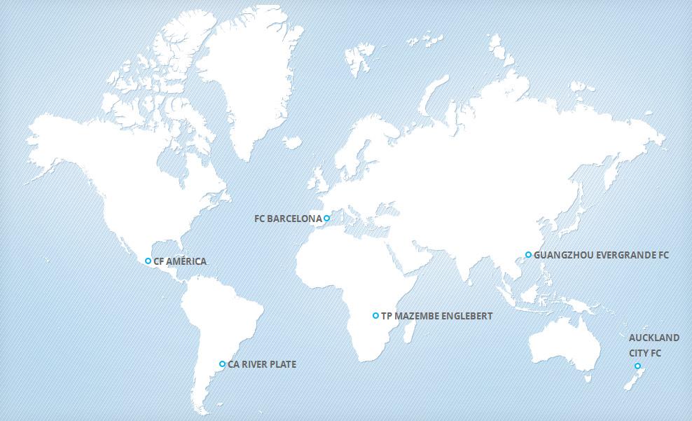 القنوات الناقلة لكأس العالم للأندية - اليابان 2015 FIFA Club World Cup