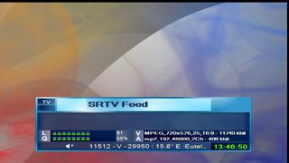 SRTV FEED EUTELSAT 16A 24-10-2017