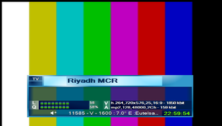 ���� ��� Riyadh MCR Biss Channel @ Eutelsat W 21A @ 21.5E ����� ������ 12/2/2016