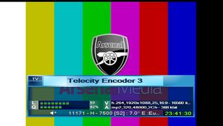���� ��� Arsenal TV 24.5�W [4:2:2], 7�E ����� ������� 29/2/2016