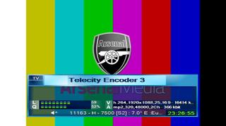 شفرة فيد Arsenal TV اليوم الخميس 17/3/2016