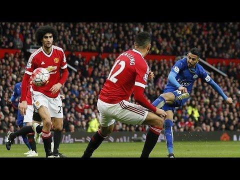 فيديو يوتيوب اهداف مباراة مانشستر يونايتد وليستر سيتي سوسيداد اليوم الاحد 1-5-2016 جودة عالية hd