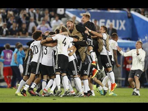 فيديو يوتيوب اهداف مباراة ألمانيا وإيطاليا اليوم السبت 2-7-2016 جودة عالية hd - يورو 2016