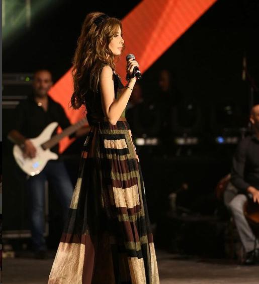 صور نانسي عجرم في حفلة أماشيت فاستيفال لبنان 2016