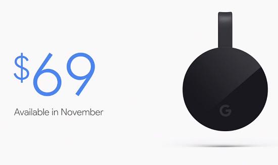 ��� �������� ���� ���� Chromecast Ultra ������ 2016