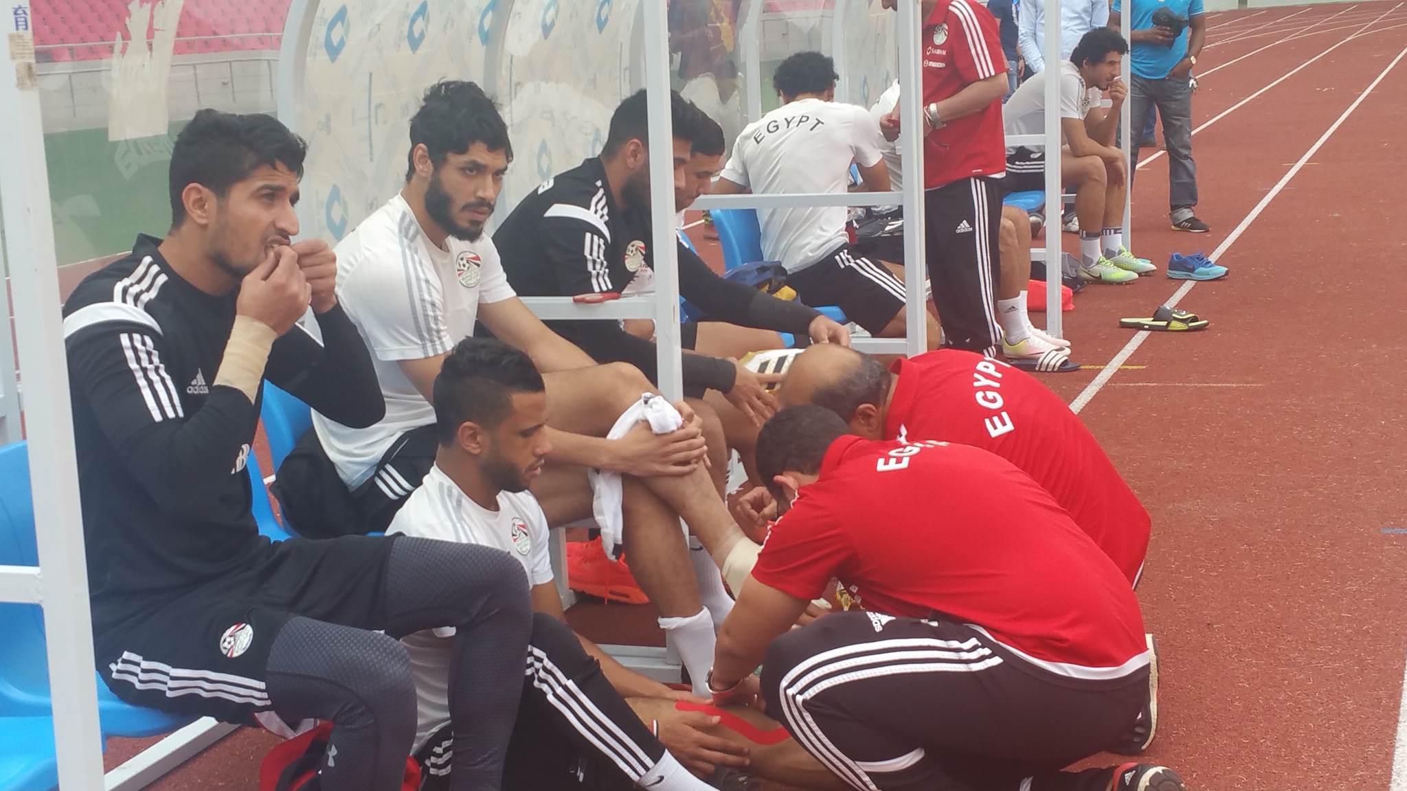 صور اخر تدريب للمنتخب المصري قبل مواجهة الكونغو غدا 9-10-2016