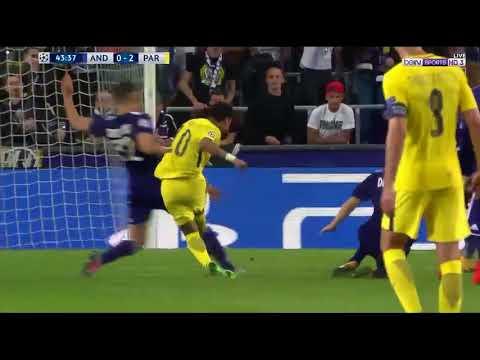 فيديو يوتيوب اهداف مباراة باريس سان جيرمان واندرلخت اليوم الاربعاء 18-10-2017 جودة عالية hd
