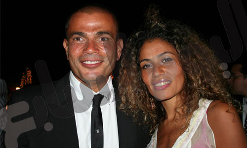 صور زوجات عمرو دياب , صور أولاد عمرو دياب