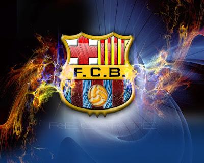 بوستات مكتوب عليها برشلونة 2019/2020