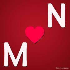 حرف M مع N
