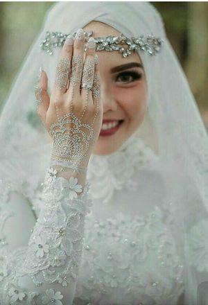 1316737e2 صور فساتين زفاف للمحجبات 2018/2019