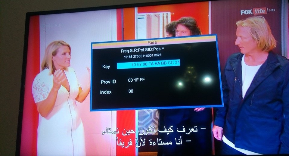 شفرة قناة Fox Life HD Arabia اليوم 14-1-2020