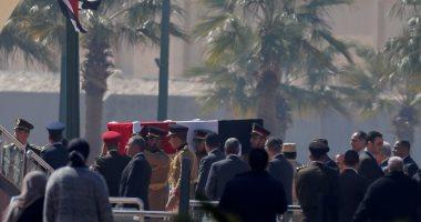 صور جثمان وقبر الرئيس الأسبق حسنى مبارك 2020