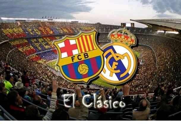 موعد أول مباراة كلاسيكو برشلونة وريال مدريد في 2021