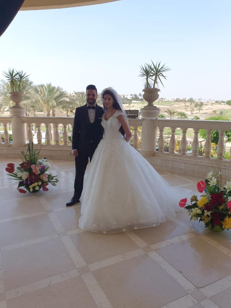 صور حفل زفاف هالة حفيدة الزعيم جمال عبد الناصر
