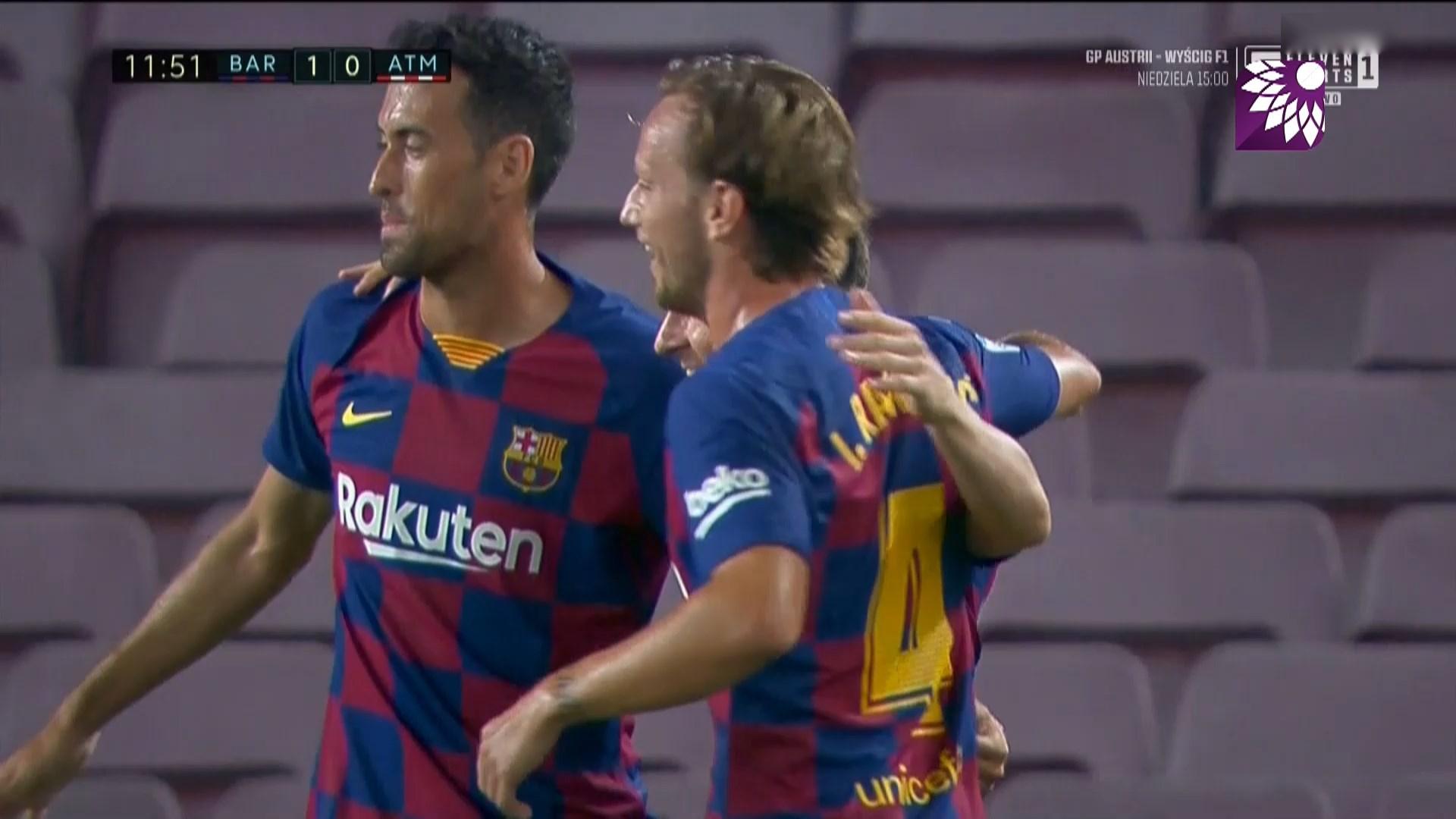 شاهد اهداف مباراة برشلونة وأتلتيكو مدريد اليوم 30-6-2020 جودة عالية hd