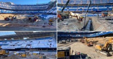 بالصور شاهد كيف يتم تجديد ملعب الـ سانتياجو برنابيو