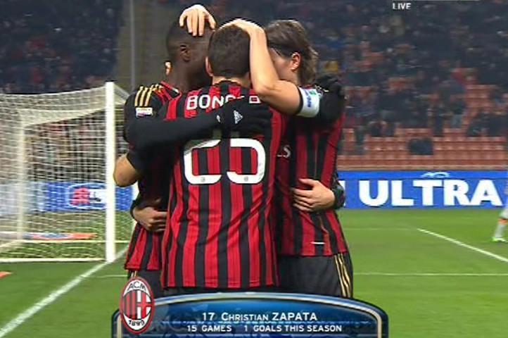أهداف مباراة القمة ميلان × روما 2-2 الجولة 16