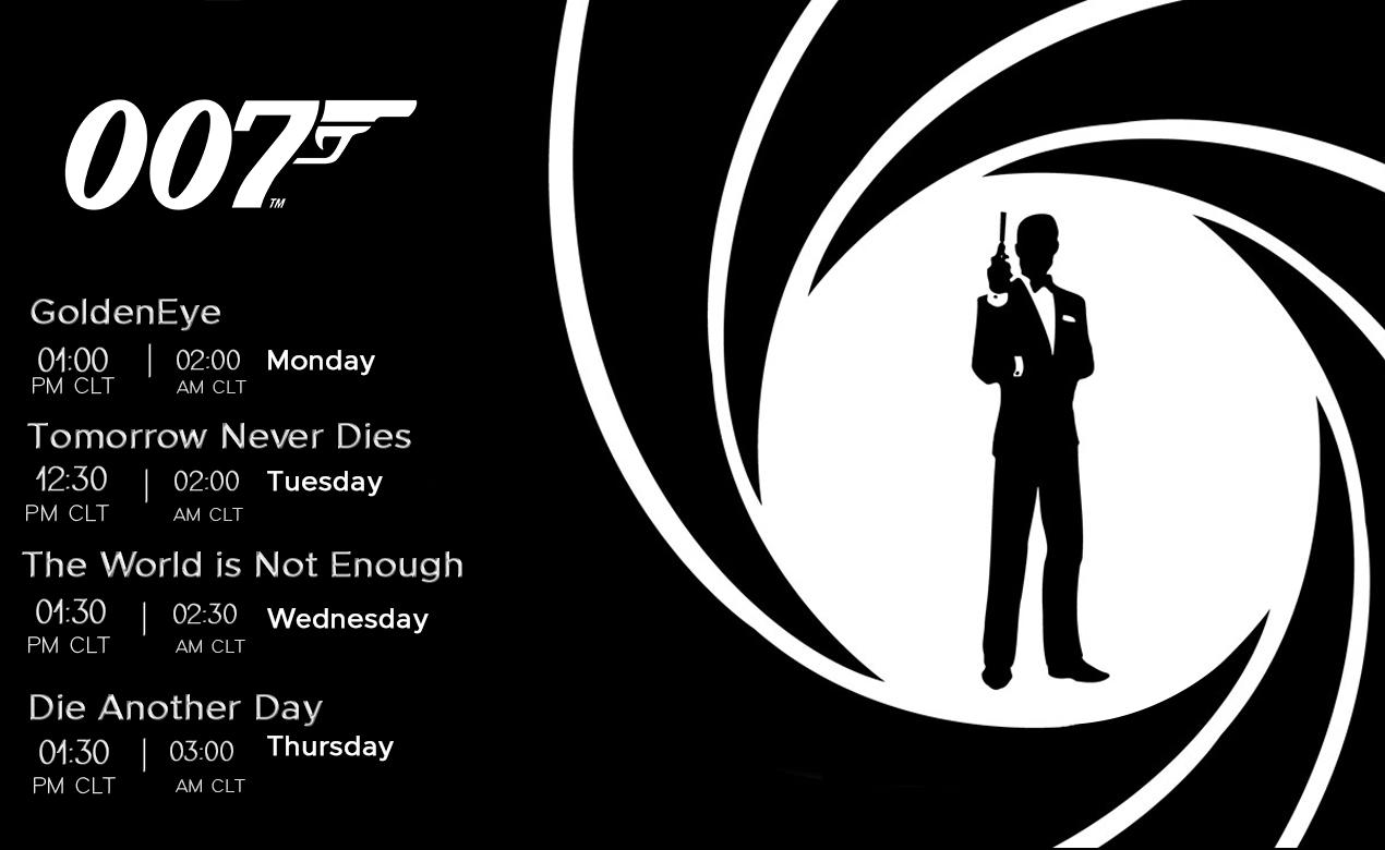 سلسلة أفلام James Bond-007 على قناة MixTV