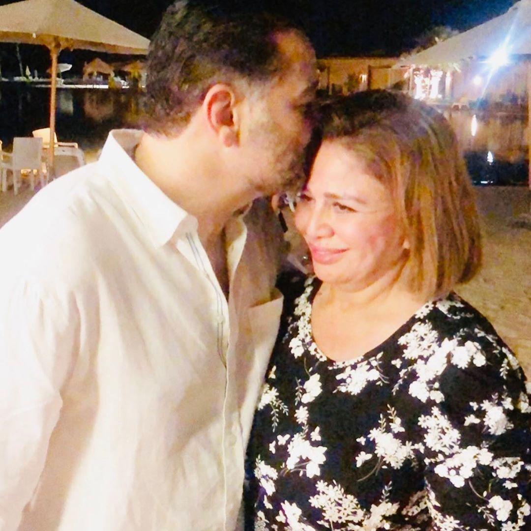 صور حفل خطوبة امير شاهين ومنة جاب الله