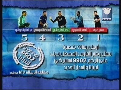 تردد قناة ليبيا سبورت النايل