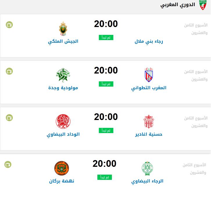مواعيد وجدول مباريات اليوم 4-10-2020 والقنوات المجانية الناقلة