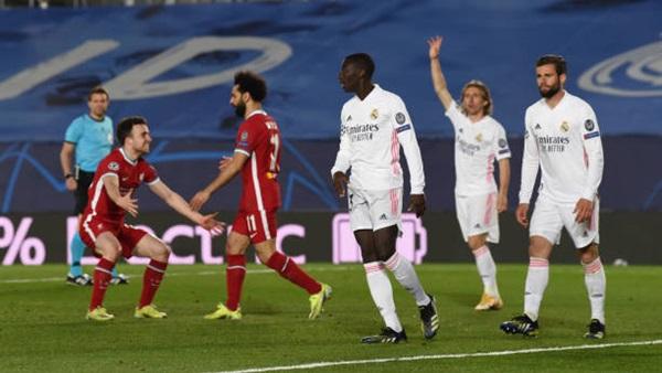 رسميا تشكيل ليفربول وريال مدريد في دوري الأبطال