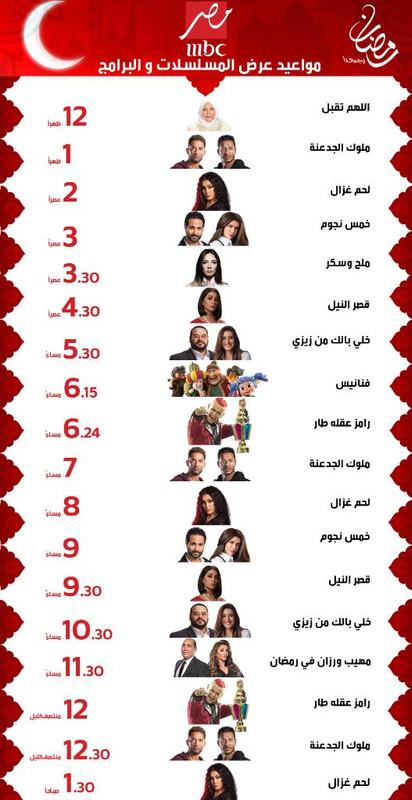 موعد وتوقيت عرض مسلسلات رمضان 2021 على قناة mbc مصر