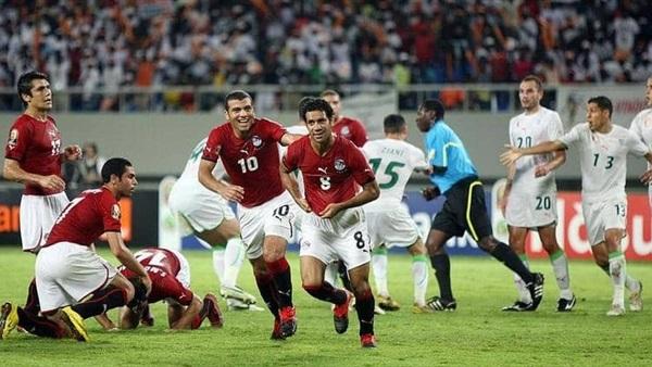 تاريخ المواجهات المنتخب المصري والجزائري