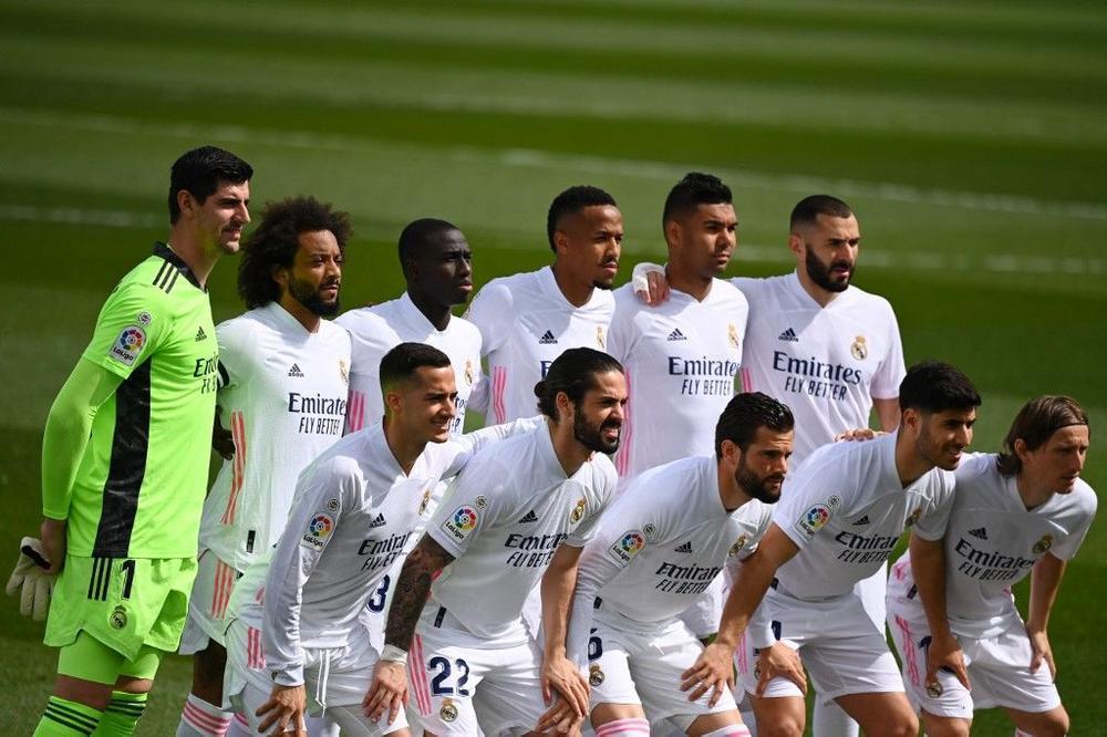 مواعيد مباريات لريال مدريد 2021