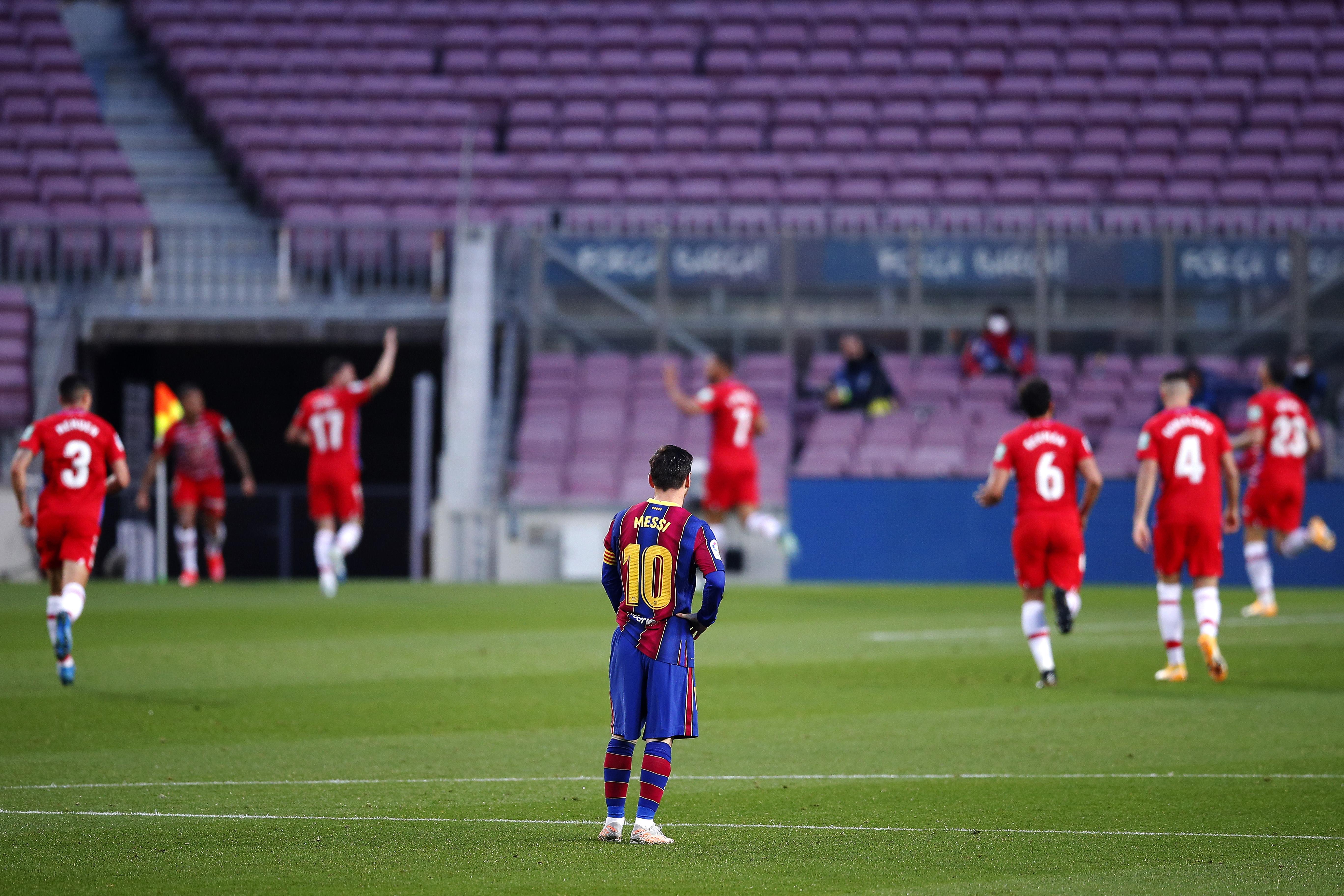 مواعيد اخر 5 مباريات لبرشلونة 2021 الدوري الاسباني