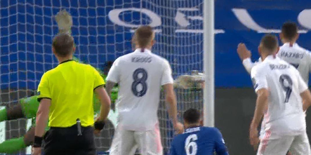 ملخص الشوط الاول مباراة تشيلسي وريال مدريد