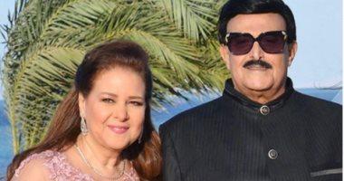حتى اللحظة اخفاء خبر وفاة سمير غانم عن زوجته دلال عبد العزيز
