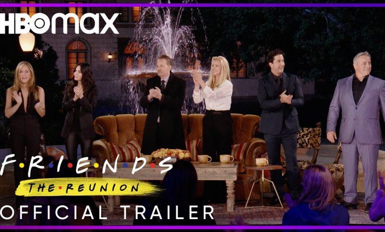 موعد وتوقيت عرض حلقة مسلسل Friends Reunion