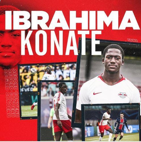أولى صفقات ليفربول اللاعب إبراهيما كوناتي
