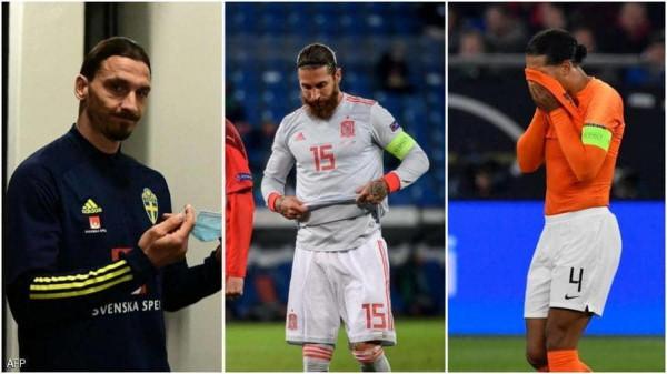 بالاسم أهم اللاعبين الغائبين عن يورو 2021