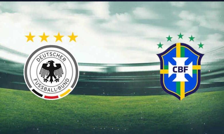مجانا القنوات الناقلة مباراة البرازيل وألمانيا اليوم الخميس