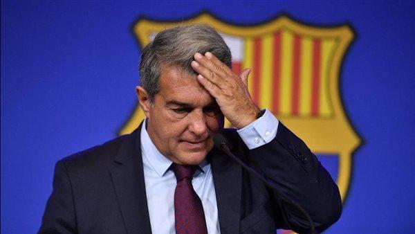 ملخص مؤتمر لابورتا رئيس برشلونة للكشف عن أسباب رحيل ميسي